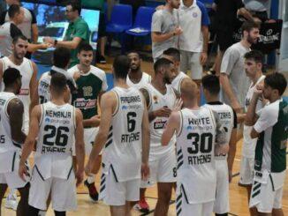 panathinaikos basket